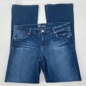 Kut from The Kloth Boot Cut Wide Leg Denim Jeans